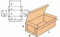 Wytrzymale pudla kartonowe laczone trwale 06020